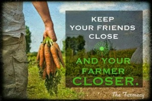 Friends Close farmer closer