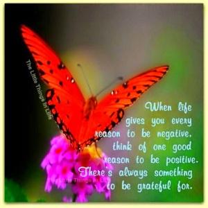 gratitude positive