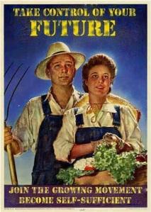 vintage poster garden